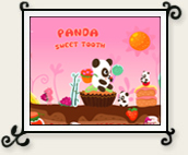 Panda Sweet Tooth